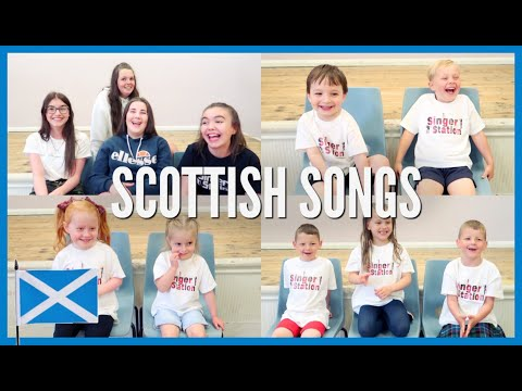 KIDS SINGING SCOTTISH