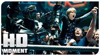 Победа Зевса по решению судей - Живая сталь (2011) - Момент из фильма