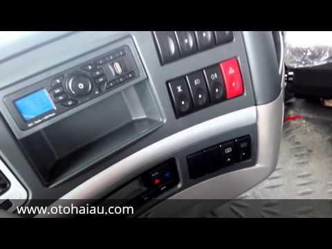 Ô Tô Hải Âu: Giới thiệu nội thất xe đầu kéo 400Hp Balong.LH:0909.633.555
