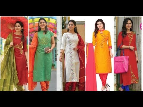 Womens party wear long kurtis new style designs
