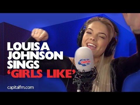 Louisa Johnson Sings And Raps To 'Girls Like'