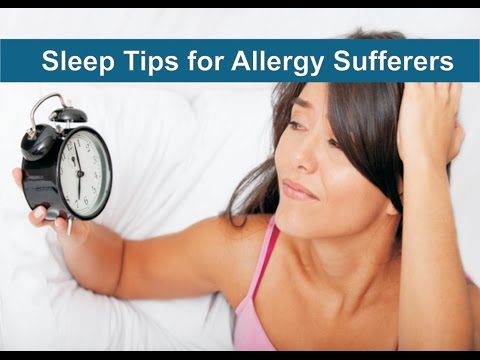 Sleep Tips for Allergy Sufferers