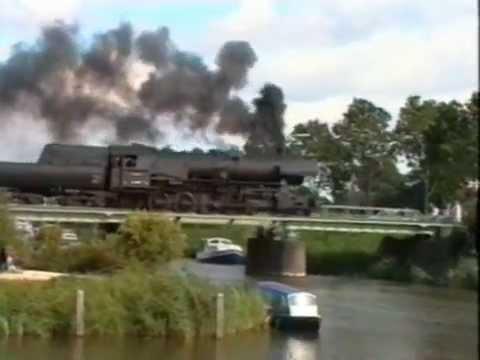 """SSN """"De 7 Provinciën Express"""". Deel 4/4. Een 2 daagse reis door Nederland. 10,11-9-1994."""