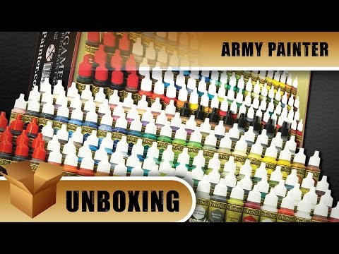 Army Painter Unboxing: Wargamers Complete Paint Set