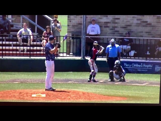 Michigan Braves Relay Throw Perfection