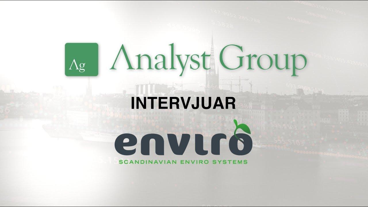 Interview with Thomas Sörensson CEO of Scandinavian Enviro Systems