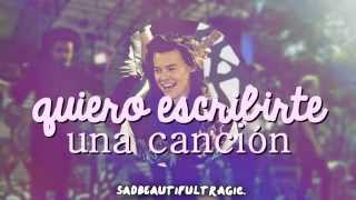 12. I want to write you a song - One Direction {Sub. Español} sadbeautifultragic.
