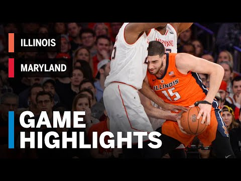 Highlights: Illinois vs. Maryland | Big Ten Basketball