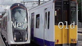 TFL Rail - Class 315 vs Class 345 (Old vs New)