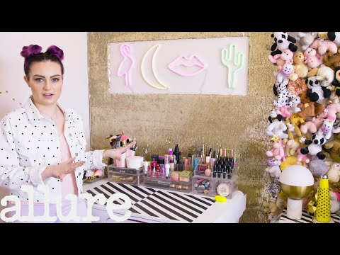 Blind YouTube Star Molly Burke's Colorful Bathroom Tour | Beauty Spaces | Allure