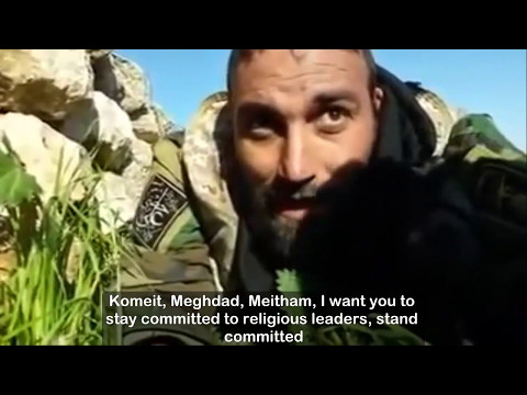 Foreign militia dominance in Hama exposed in IRGC Commander's farewell