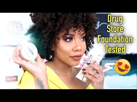 BOMB DRUG STORE FOUNDATION?? + RELVON CANDID REVIEW | Faceovermatter