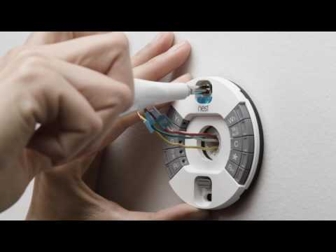 Nest Thermostat Install Video