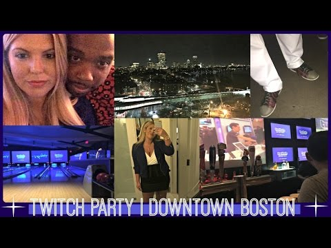 VLOG 129 | PAX East Part 2 | Twitch Party | Downtown Boston