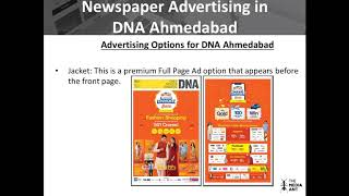 Newspaper Advertising in DNA Ahmedabad