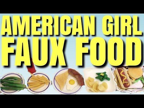 American Girl Doll Food