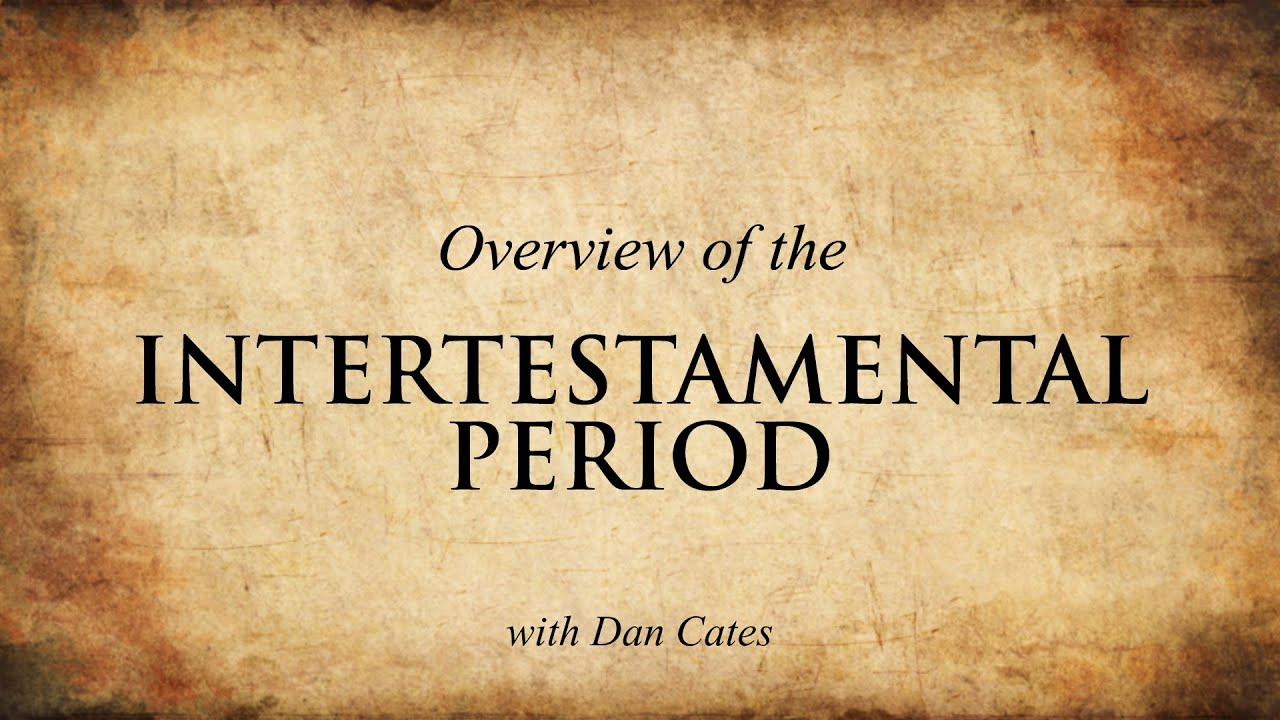 the intertestamental period Intertestamental period and new testament background -page 3 the hasmonean family (named after the hebrew name of simon) launched an uprising led by.