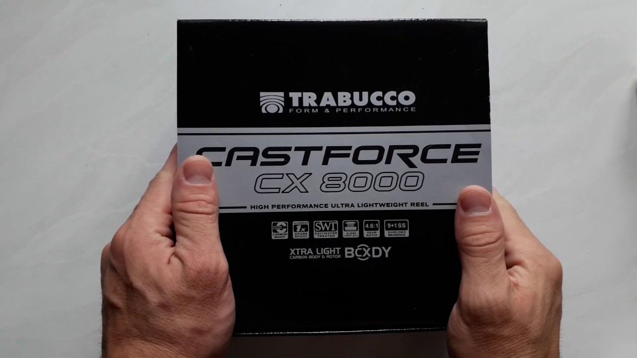Катушка Trabucco Castforce CX Ultralight Surf 8000
