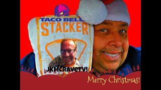 TACO BELL® Stacker Review with JKMCraveTV!
