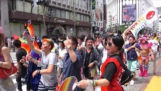 東京レインボープライド2017・パレード - Tokyo Rainbow Pride Parade 2017