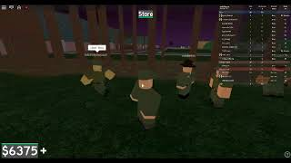 TRYOUT AMRY IN ROBLOX FAST JOIN NOW!!