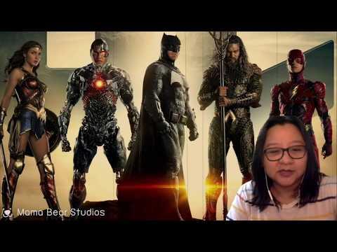 รีแอคชั่น ตัวอย่างหนัง Justice League