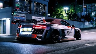 Audi R8 Spyder | Wide  Low  Loud | 4K