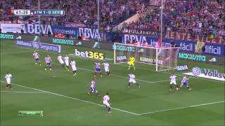 Атлетико Мадрид - Севилья 4-0 (27 сентября 2014 г, Чемпионат Испании)