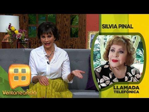 ¡Doña Silvia Pinal aclara si es verdad que le inyectaron plástico en el rostro! | Ventaneando