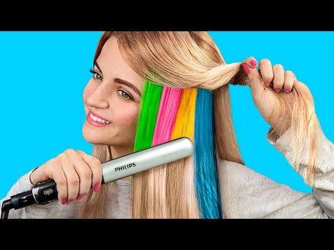 9 лайфхаков для волос / Простые причёски