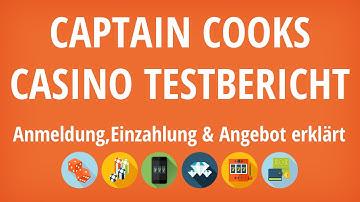 Captain Cooks Casino Testbericht: Anmeldung & Einzahlung erklärt [4K]