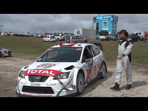 SOL Rally Barbados 2016  (RACE 1) WRC's Elfyn Evans