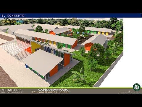 ECUADOR DESTINO TURÍSTICO  Colegio Alemán de Quito construye Unidad Educativa en Manabí NOV2017