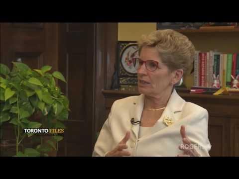 Premier of Ontario, Kathleen Wynne on Toronto Files with Burstyn & Deeks - Part 1 of 2