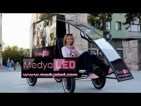 bisikledya tanitim videosu Seçim aracı Seçim bisikleti Reklam bisikleti 0 850 302 81 83