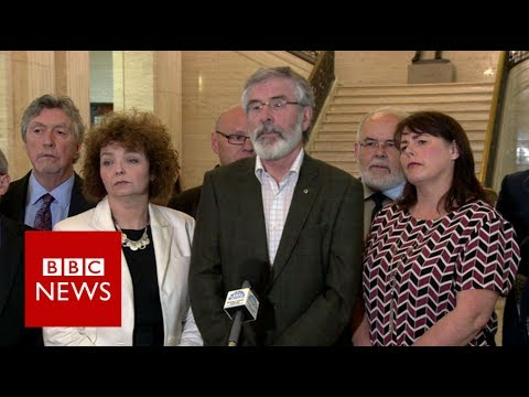 Gerry Adams: DUP-Tory deal would be 'coalition for chaos' - BBC News