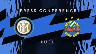 INTER vs RAPID | Antonio Candreva and Luciano Spalletti | Pre-Match Press Conference LIVE 🎙⚫🔵