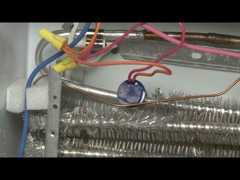 GE Refrigerator Defrost Thermostat Replacement #WR50X10068 - YouTube