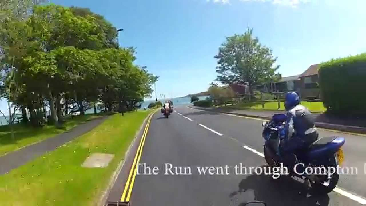 isle of wight weekend with the honda owners club - youtube