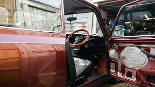 Interior Tour of My 1989 Austin Mini 30