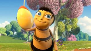 the bee movie trailer but every time they say bee it plays the a n t farm theme song faster