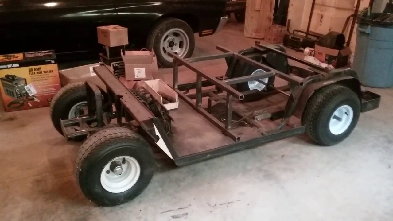 modified golf cart project - YouTube on vintage turf rider golf cart, 1980 golf cart, vintage electric golf carts, vintage golf pull carts, vintage westinghouse golf carts, vintage harley davidson golf cart, vintage golf carts models, 1960 golf cart,