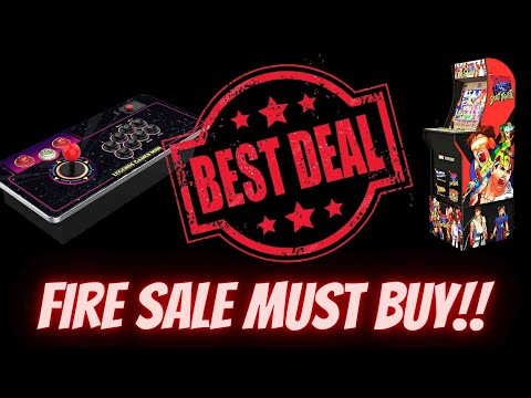 Fire Sale Must Buys!!! AtGames Legends Gamer Mini and X-Men vs Street Fighter Arcade1up from Ur Average Gamer