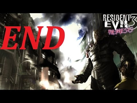 Resident Evil 3: Nemesis Walkthrough (13) Dead Factory Pt. 2 (Nemesis (12) Final Boss Battle)