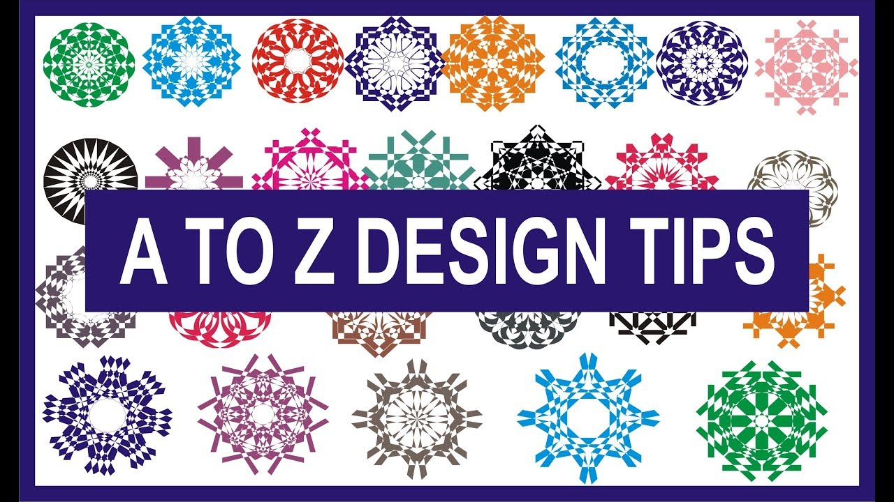 A TO Z Alphabet Design Tips and Tricks In Corel Draw