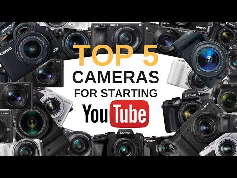 Top 5 Inexpensive Cameras for Starting YouTube