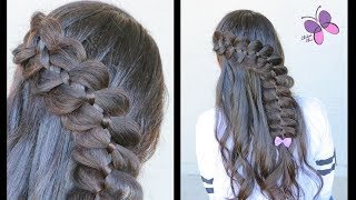 4 Strand Braid | Classic Braids | Hairstyles for Kids | ChikasChicEng