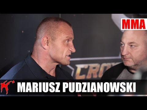 Mariusz Pudzianowski: Zostawię serce w klatce KSW 40