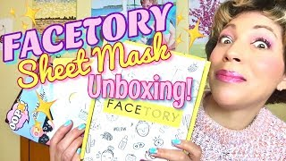 FACETORY 7 LUX UNBOXING!
