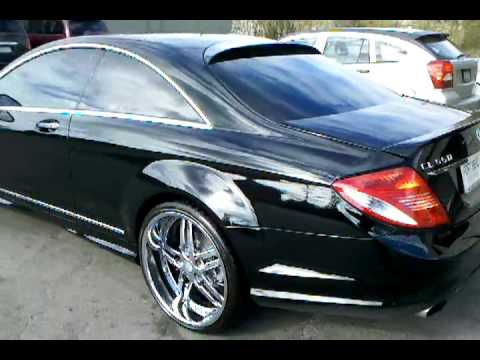 Mercedes Benze Cl 500 On 22 Quot Asanti Wheels Youtube